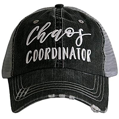 KATYDID Chaos Coordinator Baseball Cap - Trucker Hat for Women - Stylish Cute Ball Cap