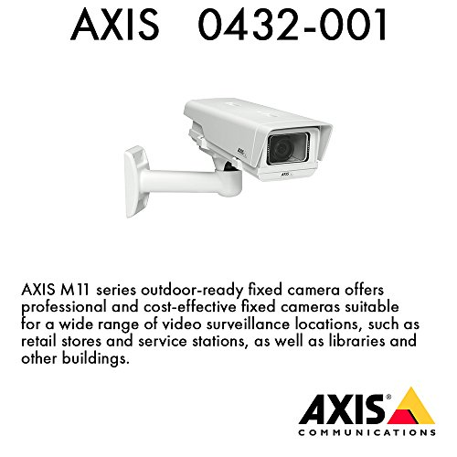 Lowest Price! Axis M1114-E–Surveillance Camera (Indoor, Wall, 1280x 800Pixels, H.264, M-JP...