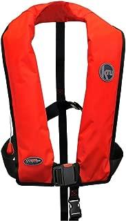 Ocean Safety Kru XF ISO Manual Life Jacket Red - Lightweight
