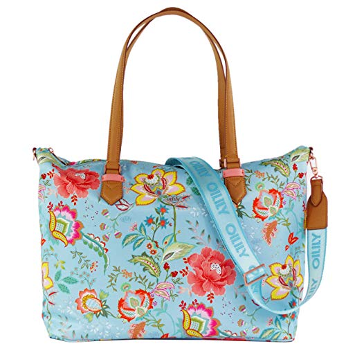 Oilily Color Bomb Damen Carry All mit Laptopfach OIL0148-562 Turquoise