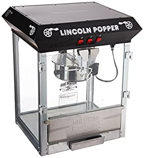 Great Northern Popcorn Black Bar Style Lincoln 8-Ounce Antique Popcorn Machine, Bar Style (B000QWCAB4) | Amazon price tracker / tracking, Amazon price history charts, Amazon price watches, Amazon price drop alerts