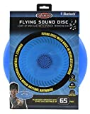 Flying Sound Disc - Light-Up and Bluetooth Speaker Throwing Disc- Blue