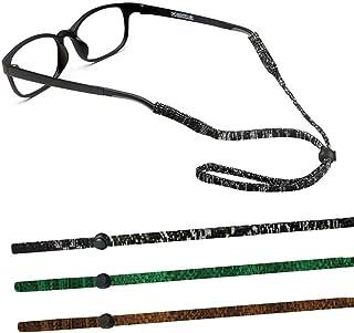 83d2396331 TERAISE 3pcs Cadena De Gafas Ajustable Correa De Retención De Gafas Suave  Deportes Al Aire Libre