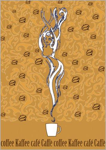 Onbekend in 5-delige set: de koffiefee als kaart voor liefhebbers van aromatische drank