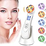 Best Face Massagers - 5in1 Face Massager, Skin Tightening Machine,6 color Vibration Review