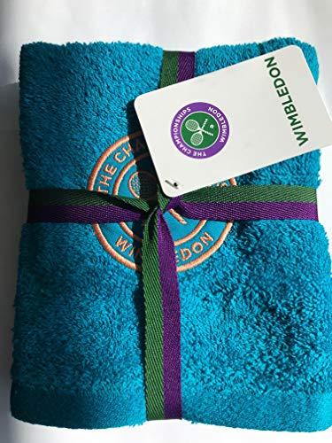 Wimbledon Lady Guest Towel deep Aqua New | 2020
