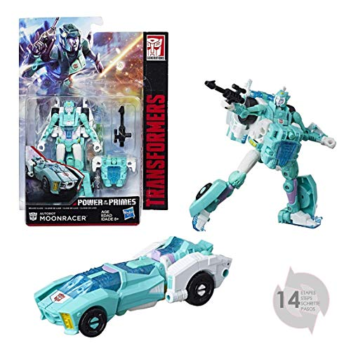 TRANSFORMERS Generation – Deluxe Robot 15 cm – Convertible 2-in-1 Toy