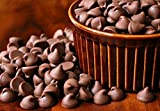 FLAVOURS Chocolate Chips (Dark) - Gourmet Organic Chocolate - 400 Grams -for Baking/Desserts/ice