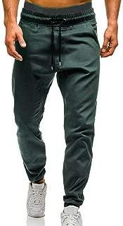 Uomo Tinta Unita Pantaloni Tuta Baggy per il Tempo Libero Cotone 2XL-6XL