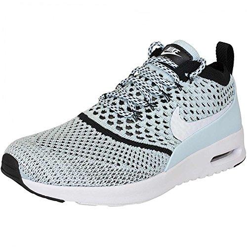 NIKE W Air Max Thea Ultra Flyknit Schuhe Damen Sneaker Turnschuhe Blau 881175 400, Größenauswahl:36.5