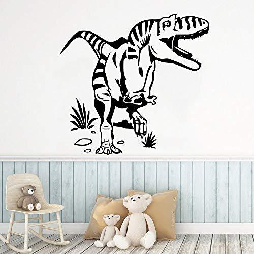 Tong99 Sticker voor de muur van dinosaurus, 3D-behang, afneembaar, vinyl