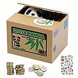 Elektronische Panda-Sparbüchse für Kinder und Erwachsene - Sparbüchse mit Pandas Pfote für...