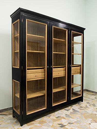 Ebanisteria Gambella - Negro Librería