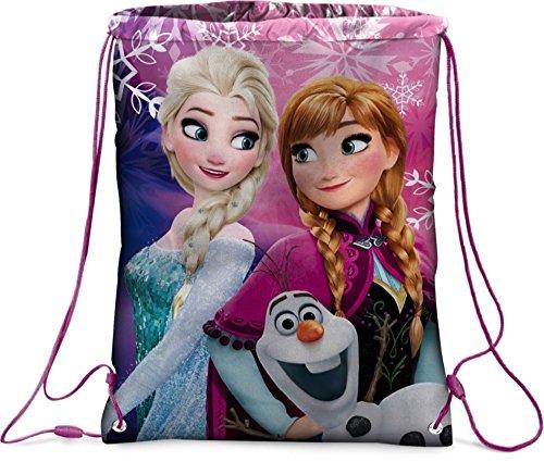 Frozen - Die Eiskönigin - Anna und Elsa -Sportbeutel Beutel Turnbeutel Schuhbeutel + Sticker von kids4shop