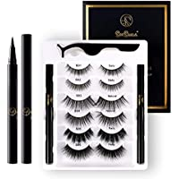 6-Pairs SeeSwan Eyelashes and Eyeliner Kit Pack