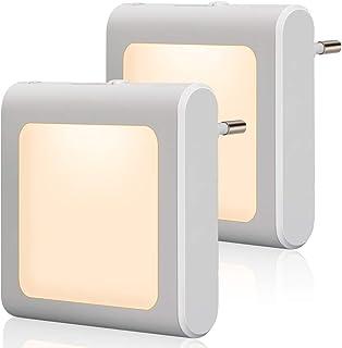 Emotionlite Nachtlampje stopcontact met schemeringssensor, helderheid traploos instelbaar, zeer goed voor kinderkamer, tra...