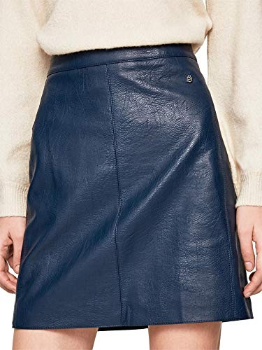 Pepe Jeans Falda Carry Granate para Mujer S Azul