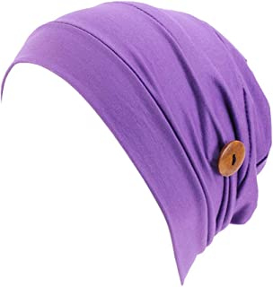 KESYOO Surgical Scrub Cap Medical Turban Cap Scrub Hat Doctor Cap Surgeons Cap with Buttons for Hospital Doctor Nurse (Fac...