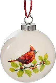 IH CASADECOR Ceramic Ball Ornament (Cardinal), Multi