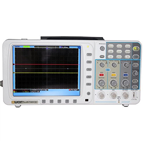 New Owon 100mhz Oscilloscope Sds7102 1g/s Large 8