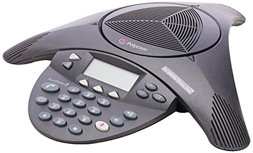 Polycom SoundStation 2 Non Expandable Analog Conference Phone (2200-16000-001) (Renewed)