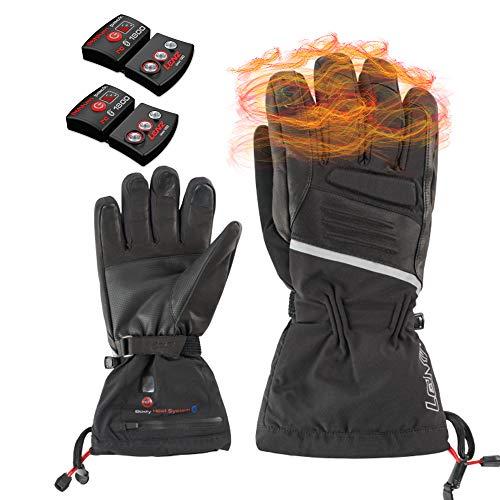 Lenz Heat Glove 4.0 Men Set con 1800 Li-Ion Batería Guantes calefactables Guantes calefactables Moto Guantes termicos calefactores a bateria