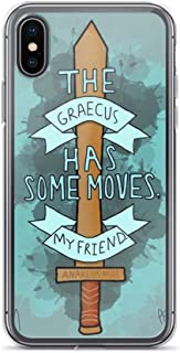 Horseshoe's Compatible with iPhone 6/6s Case Percy Jackson The Olympians Seven Demigods Pure Clear Phone Cases Cover