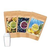 [チアシード配合スムージー (Fセット)]3袋+プレゼント (300g×3袋 約150杯分)選べる福袋 チアシード マキベリー スーパーフード アサイー パイン スムージー