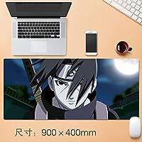 大型 NARUTO -ナルト- アニメ mouse pad マウスパッド ゲーミング マウスパッド 耐久性 滑り止め ゲームオフィステーブルマット 900x400x4mm