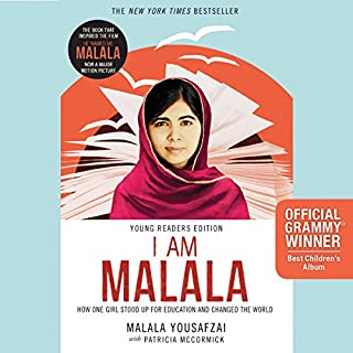 I Am Malala audiobook cover art