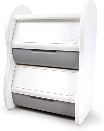 IFAM Storage Organizer with Cover, Grey/white