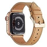 WFEAGL Compatibile con Cinturino Apple Watch 42mm 44mm 38mm 40mm, Pelle Cambiamento Cinturini...