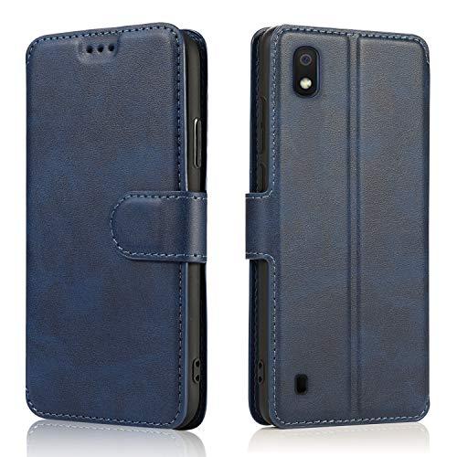 LeYi Funda Samsung Galaxy A02S con HD Protector Pantalla,Carcasa Libro Tapa Silicona Bumper Cuero Cartera Case Flip Cierre Magnético...