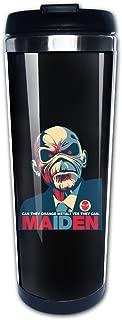 Iron Maiden The Book Of Souls Traveler Coffee Mug, 400ml, Stainless Steel