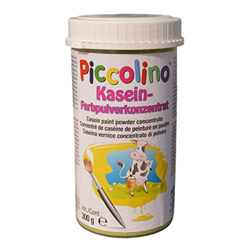 Posterverf Piccolino caseinkleur 300 g donkergroen - kleurpoeder om zelf te roeren