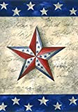 Toland Home Garden Estrellas en Star 12,5 x 45,7 cm Decorativo USA-Produced jardín Bandera