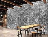 Fototapete Vlies Tapete Zement Wandtapete Design Wanddeko Ausblick Geeignet Fototapeten für Esszimmer Schlafzimmer Wohnzimmer Weihnachten Black Friday 300x210 cm