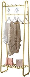Portant Penderie À Vêtement,Chaussures Vêtements Plateau Hanging Rail 5 Crochets,Heavy Duty Métal Vêtements Suspendus Sur ...