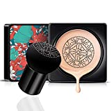 Mushroom Air Cushion CC Cream Hidratante Corrector Base de maquillaje Imprimación duradera Tono de piel cálido Nude Face color natural