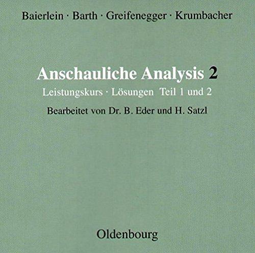 Anschauliche Analysis 2. Leistungskurs Lösungen 1/2. CD-ROM