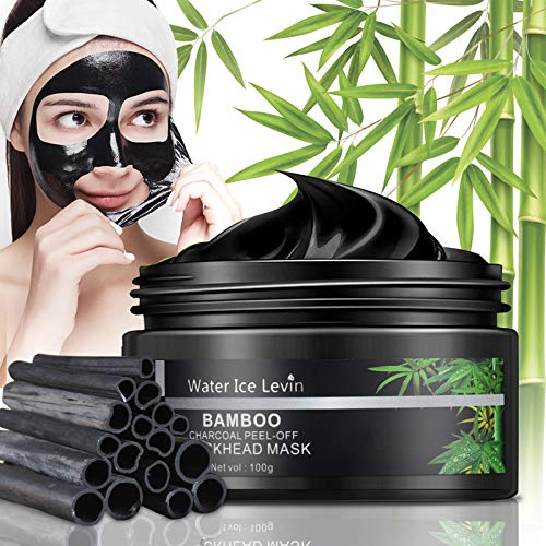 Blackhead Remover Mask, Charcoal Peel Off Mask, Purifying Black Face Mask for All Skin Type Nose and Face