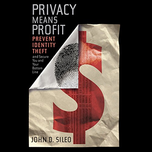 Privacy Means Profit audiobook cover art
