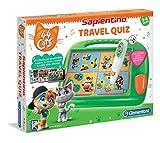 Clementoni - 16197 - Sapientino - Travel Quiz 44 Gatti, penna interattiva, elettronico parlante, gioco educativo bambini 4 anni, batterie incluse (versione in italiano)