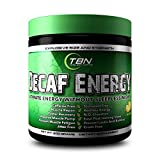 Decaf Energy [Ultimate Energy Without Sleepless Nights] is a Caffeine/Stimulant Free Pre Workout Energy Booster. (Wild Cherry)