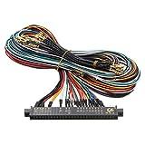 C-FUNN Arnés De Cableado Multicade Arcade Video Game PCB Cable para Jamma Multi Juego Board