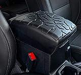 Boomerang Tire Tread Armpad for Jeep Wrangler JL (2018-2021) - Center Console Armrest Cover
