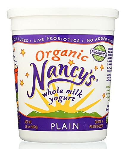 Nancy's, Organic Whole Milk Yogurt, Plain, 32 oz