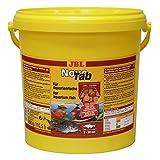 JBL NovoTab 30201 - Pienso Completo para Peces carnívoros de Acuario, Pastillas de 10,5 l