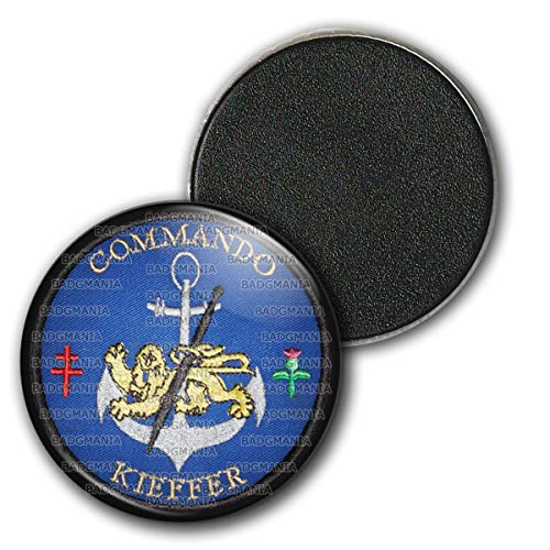 Badgmania Magnet Aimant Frigo 3.8cm Armée Commando Kieffer Forces Speciales