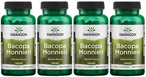 Swanson Bacopa Monnieri Extract Bacognize 250 Milligrams 90 Capsules